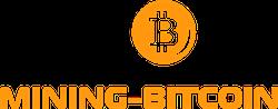 Mining Bitcoin logo