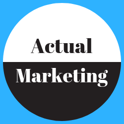 actual marketing logo